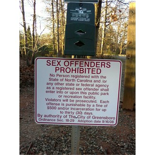 New Sign at the Park | by NCReedplayer