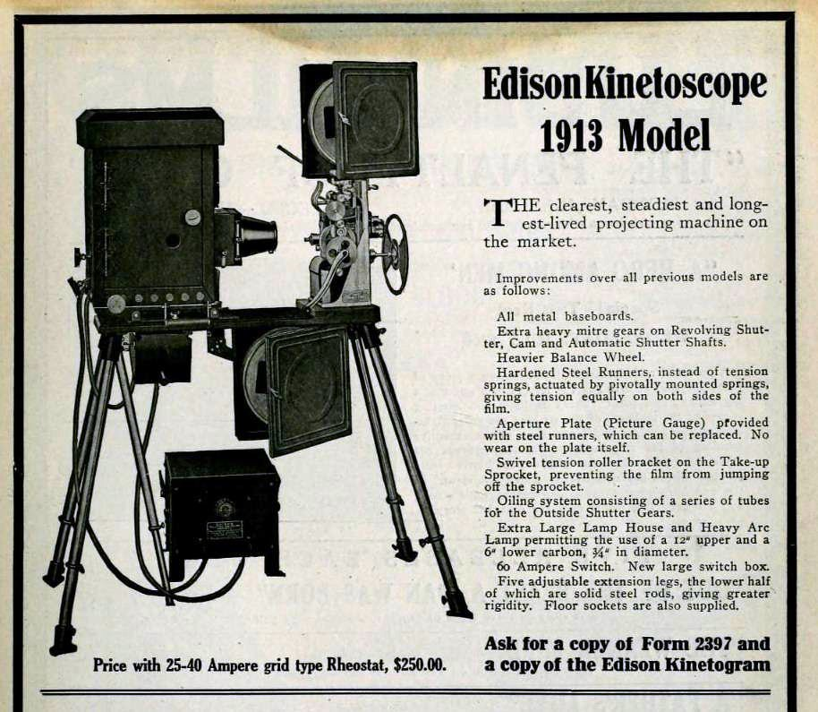 Edison Kinetoscope 1913 Model