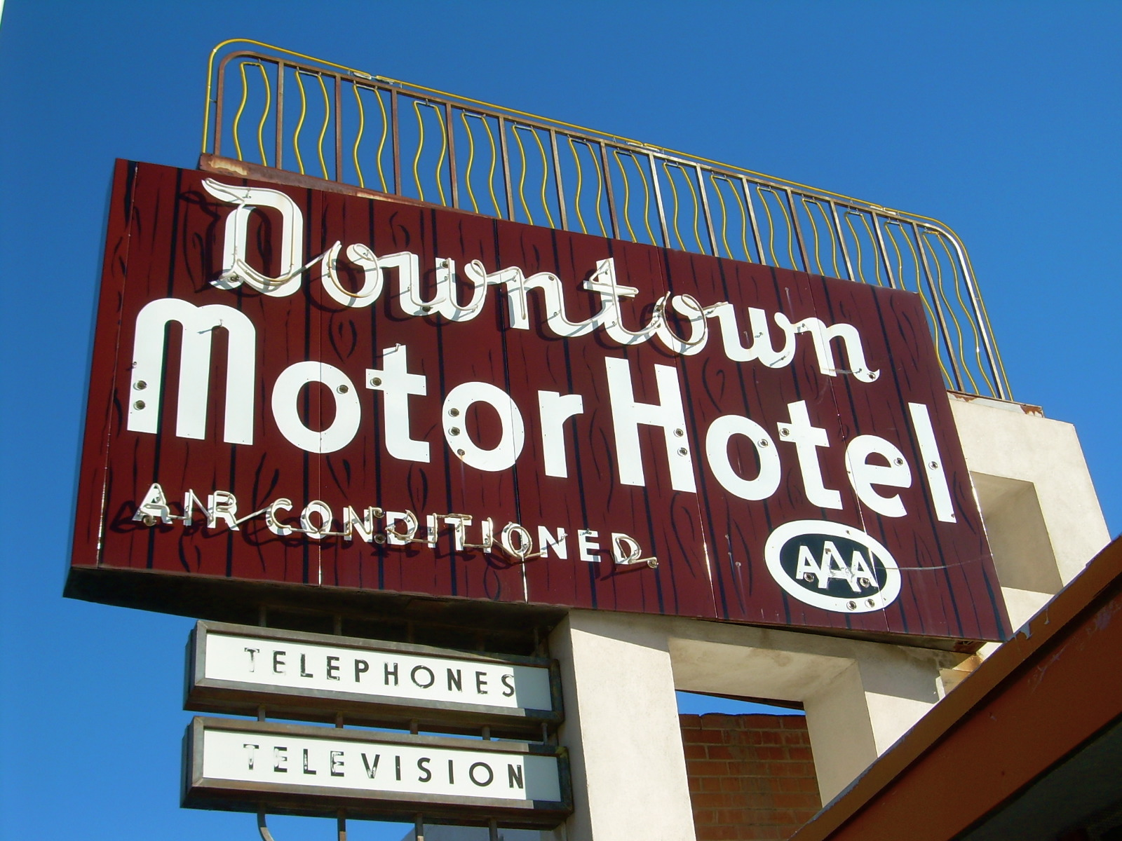 Downtown Motor Hotel - Tucson, Arizona U.S.A. - March 16, 2008