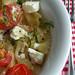 greek feta and tomato pasta