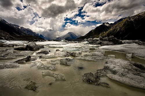 Ice on Tasman Lake | by Richard Bolt