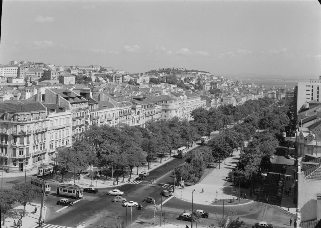 Vista de Lisboa, Portugal | Vista da Avenida da Liberdade