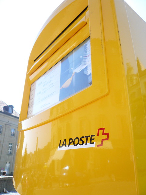 bo te aux lettres la poste suisse flickr photo sharing. Black Bedroom Furniture Sets. Home Design Ideas