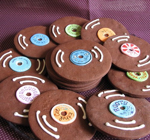 Chocolate Record Cookies Some Things Taste A Little