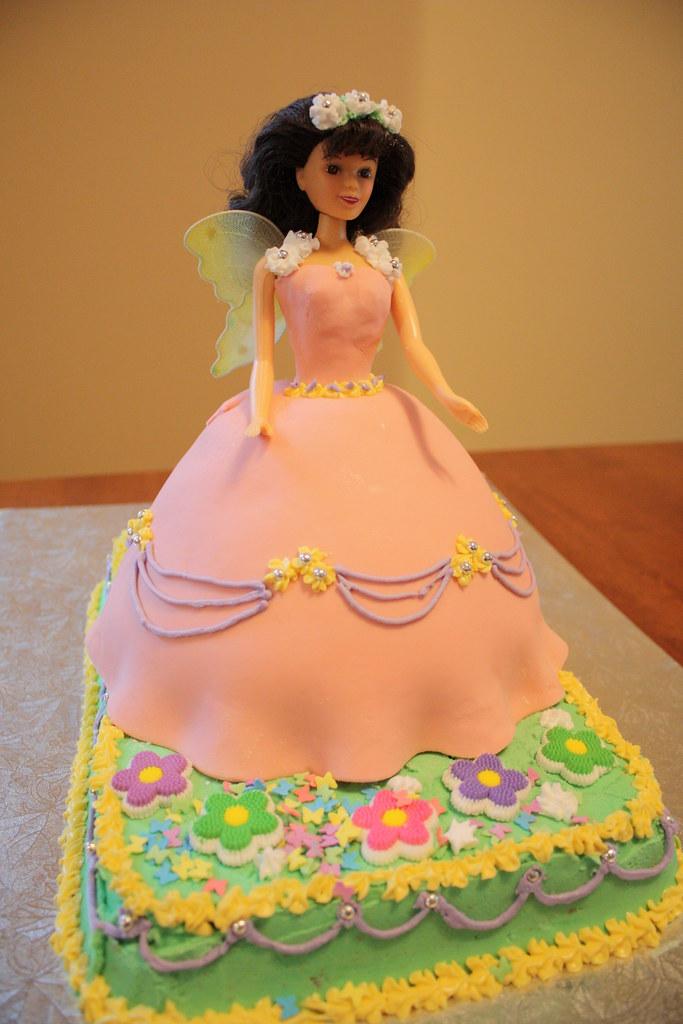 Doll Cake And Angel Food Cake Pan