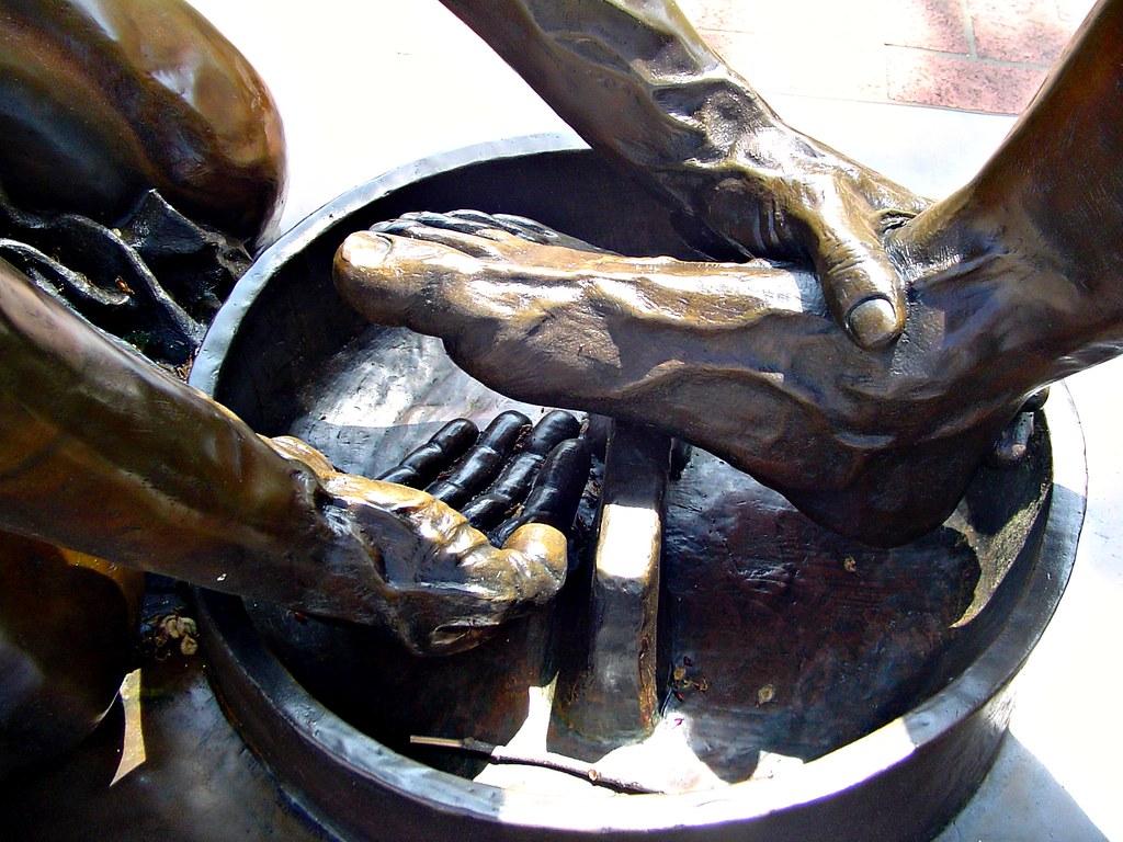 What Are Dts >> Washing Feet Closeup at Dallas Theological Seminary - Isai ...