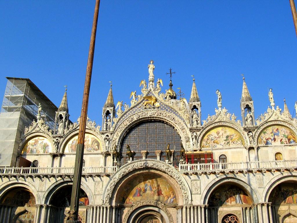 Basilica di san marco a look at the exterior of basilica for Esterno basilica di san marco
