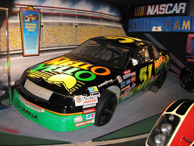 lumina stock car from days of thunder hollywood star car. Black Bedroom Furniture Sets. Home Design Ideas