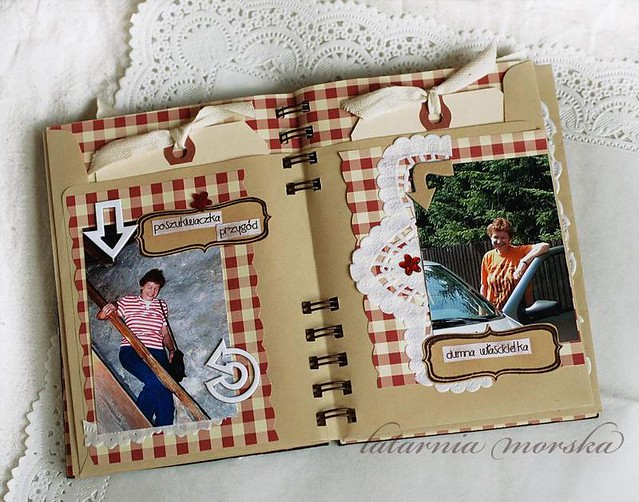 scrapbooking album for gosia 12x16 cm base binded envel flickr. Black Bedroom Furniture Sets. Home Design Ideas