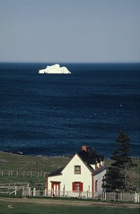 House with iceberg | by Derek Keats