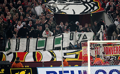 Köln Gladbach Fahne