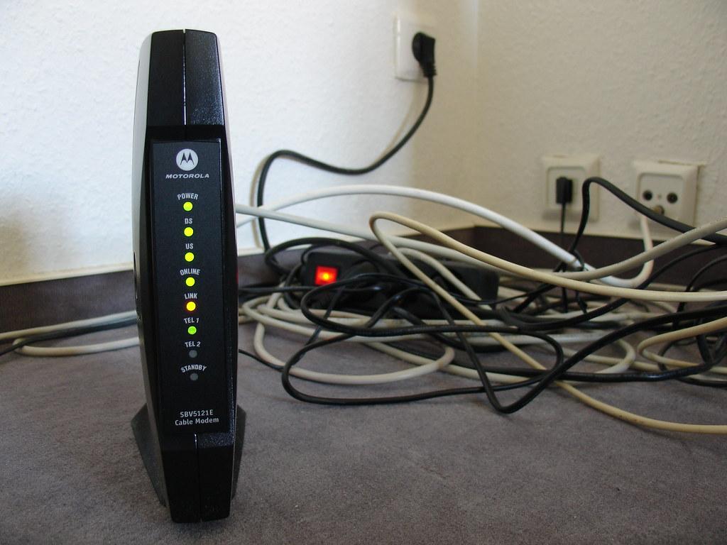 motorola sbv5121e cable modem willkommen bei kabel deuts flickr. Black Bedroom Furniture Sets. Home Design Ideas