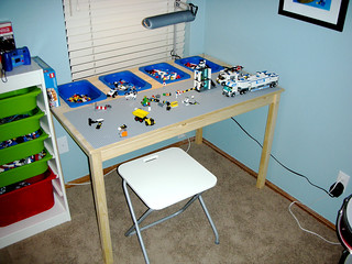 Lego Table Made From Ikea Parts | by James Fee
