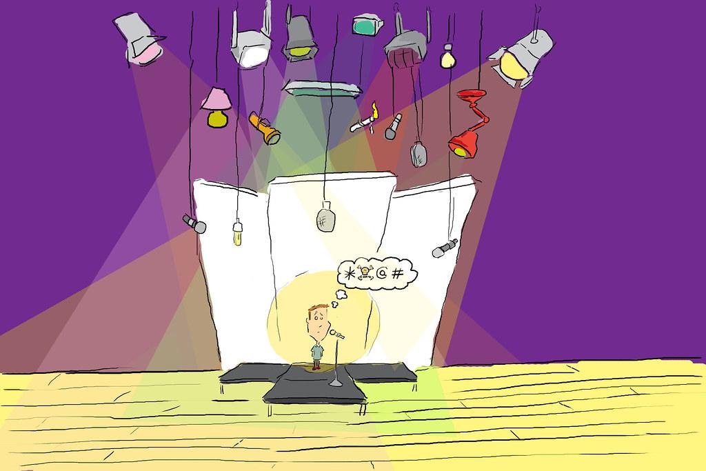 Stage Fright Image Victor Jeg Flickr
