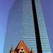 Boston - John Hancock Building & Trinity Church