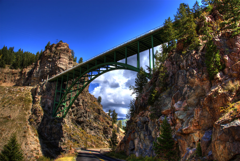 Red cliff bridge bridgepixing near vail colorado at the for Chair 4 cliffs vail
