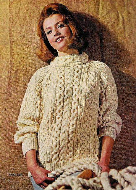 Vintage Knitting Patterns 1960s Irish Fisherman Sweaters Flickr