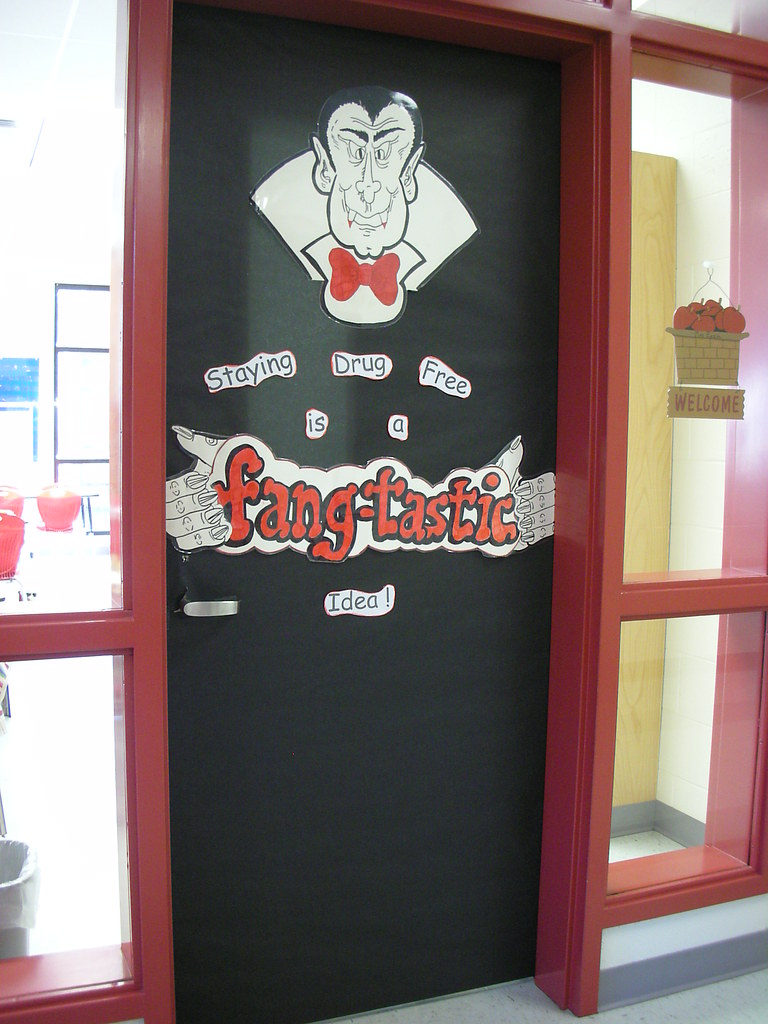 Classroom Door Decoration Ideas For Red Ribbon Week ~ Door decorations for red ribbon week staying drug free