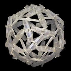 Bike wheel reflector sphere