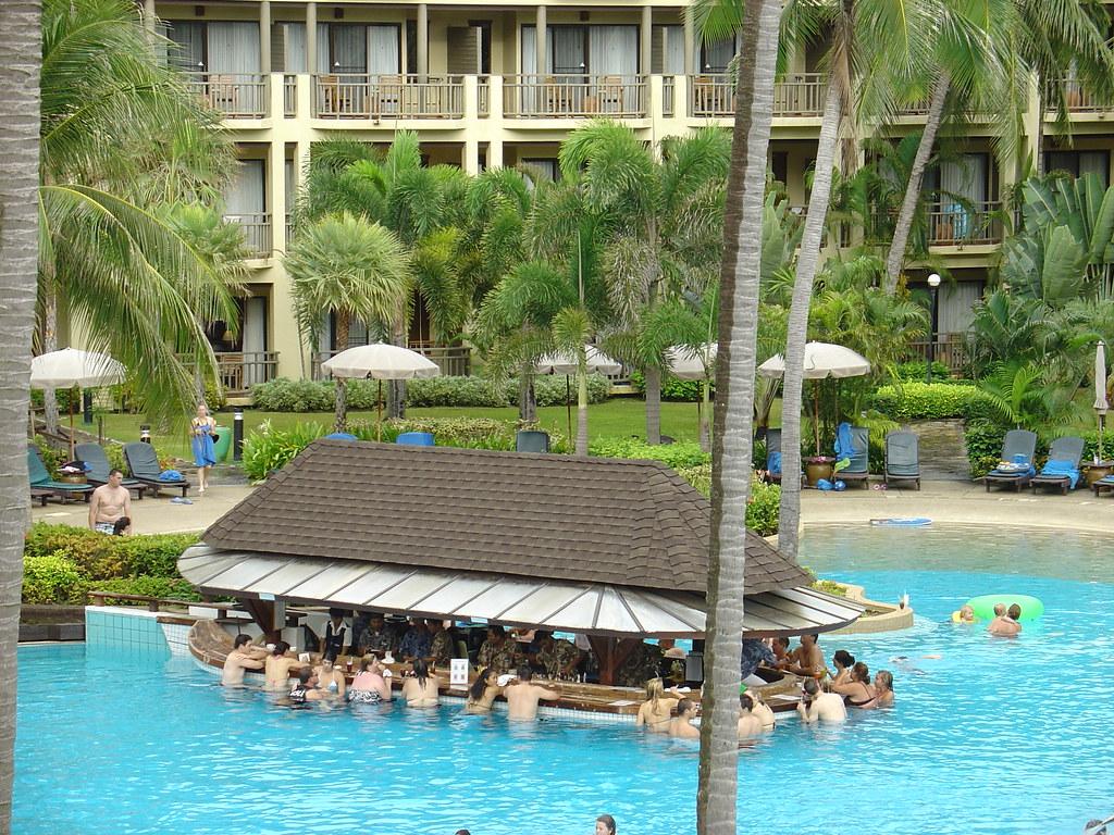 Pool Bar Merlin Beach Resort Phuket Merlin Beach