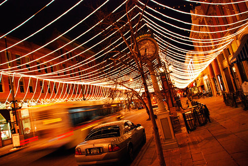 Lights on Larimer Square | This was taken in downtown ...