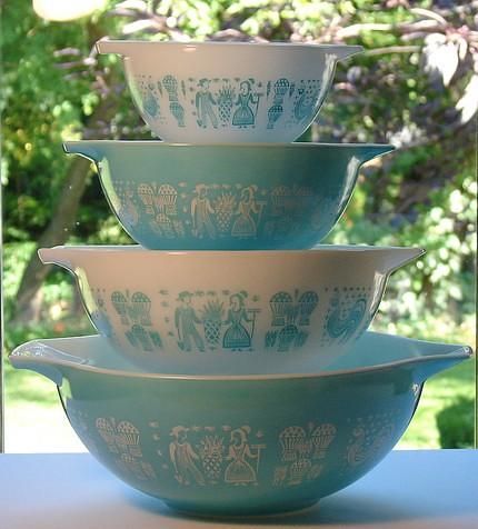 vintage pyrex butterprint cinderella bowl set flickr. Black Bedroom Furniture Sets. Home Design Ideas