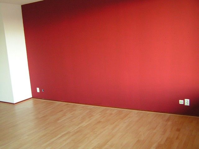 dag  woonkamer rode muur klaar  joostkokke  flickr, Meubels Ideeën