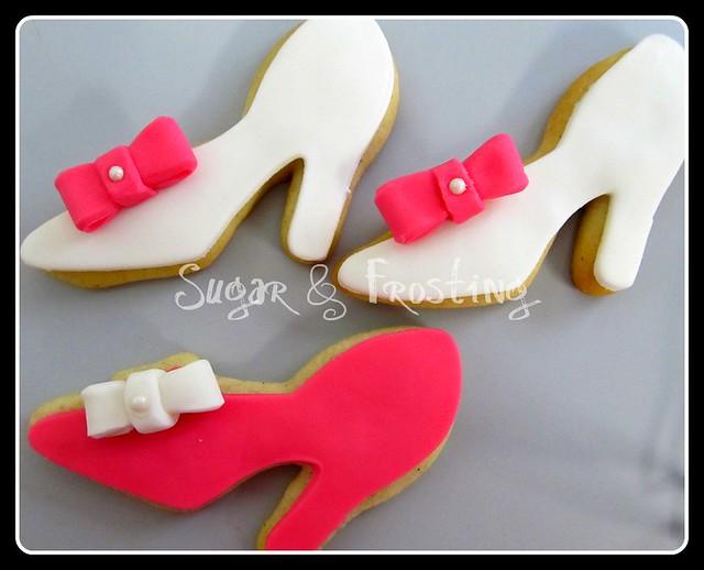 high heel shoe cookies flickr photo