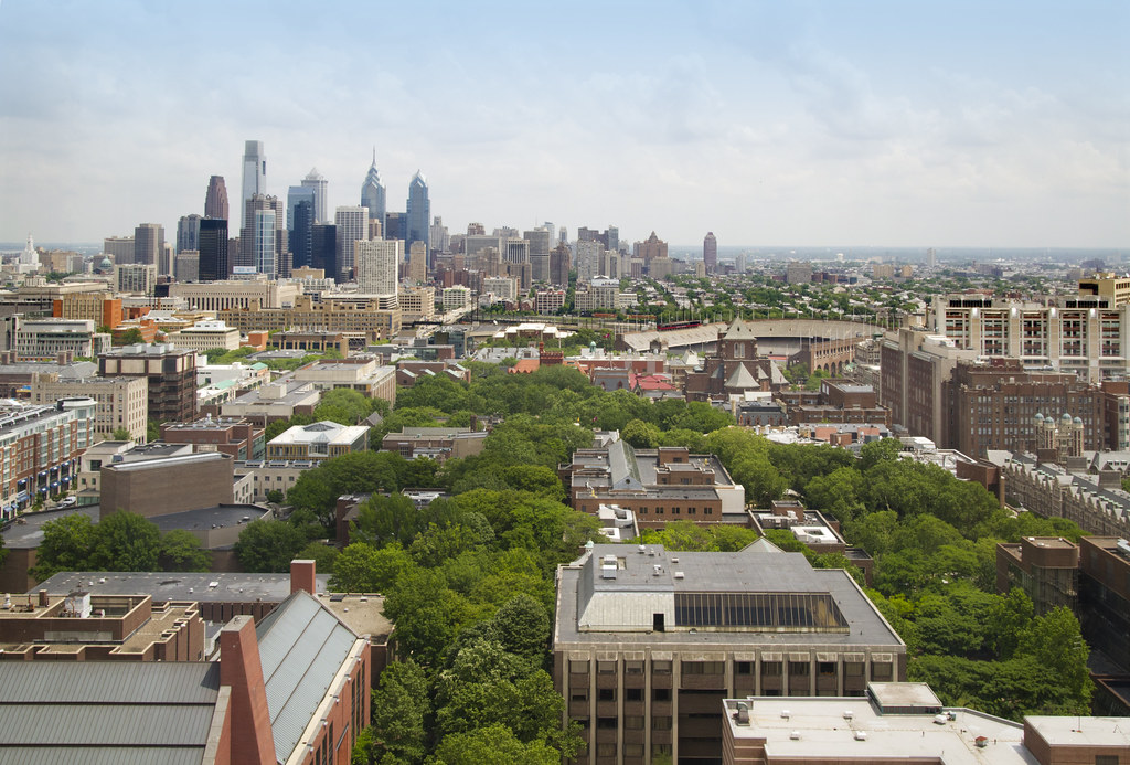 University of Pennsylvania Campus, Looking East | Flickr - Photo ...