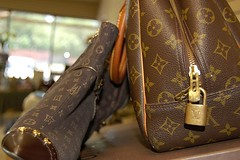 lv cosmetic bag | by Cheryl Action Jackson