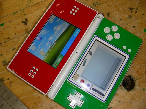 skinned ds running windows ce | by connors934