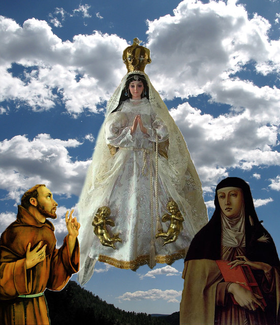 Our Lady of Angels Queen of the Franciscan Order | We ...