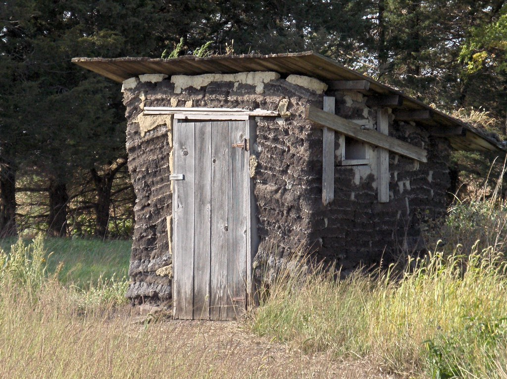 Sod Outhouse Sod House On The Prairie Sanborn Mn Flickr