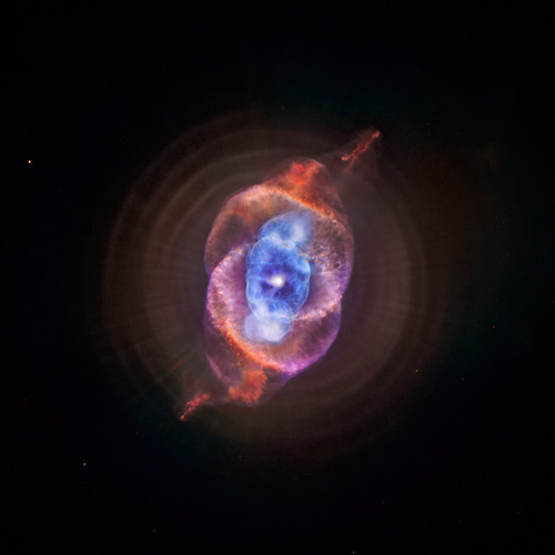 NGC 6543: The Cat's Eye Nebula Redux (Also known as the Cat's Eye, this planetary nebula is located about 3,000 light years from Earth.) | by Smithsonian Institution