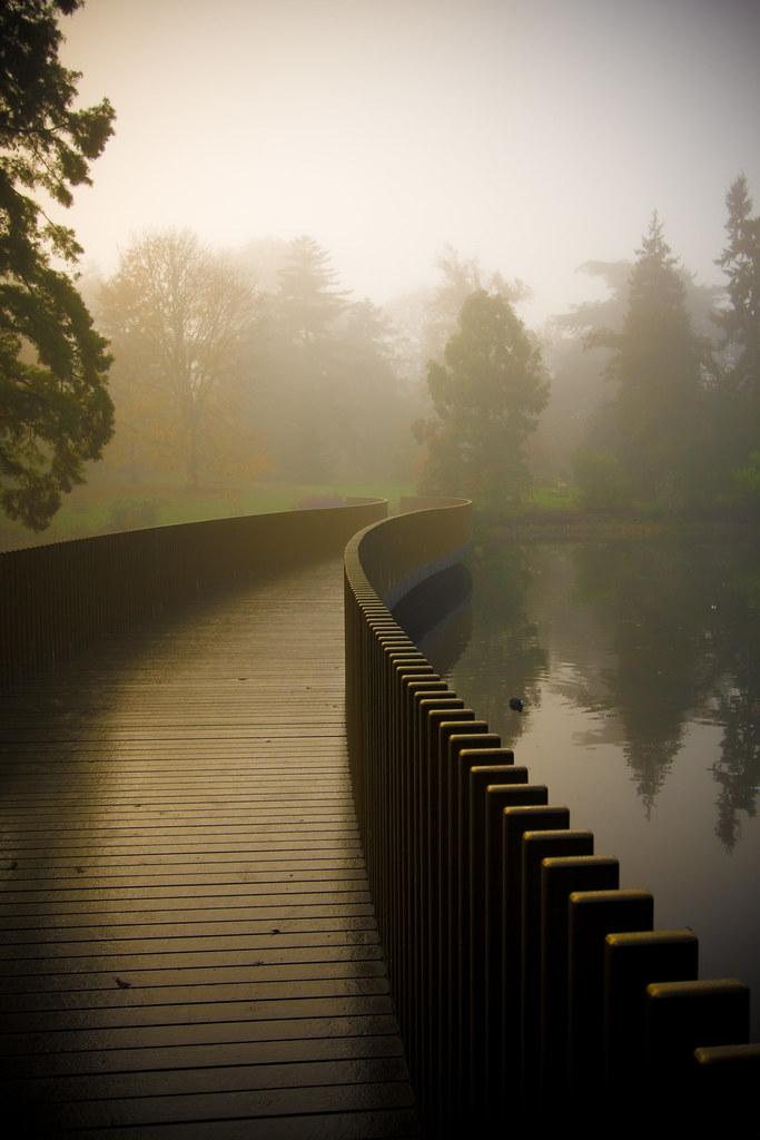 Sackler Early Autumn Morning In Royal Botanic Gardens At K Flickr