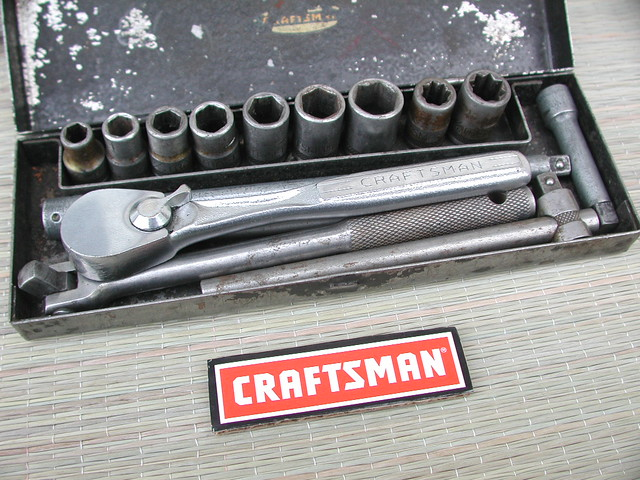 Socket Wrench Set Craftsman Craftsman 1 4 Quot Socket Set