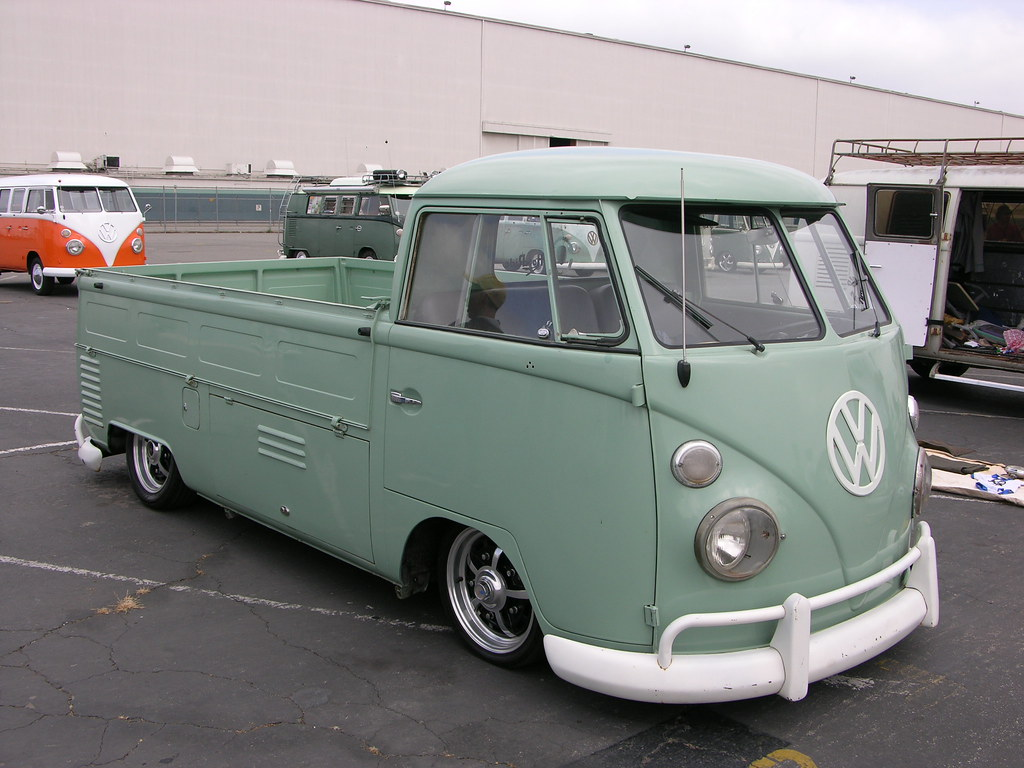 Vw Bus Single Cab Andrew Frood Flickr