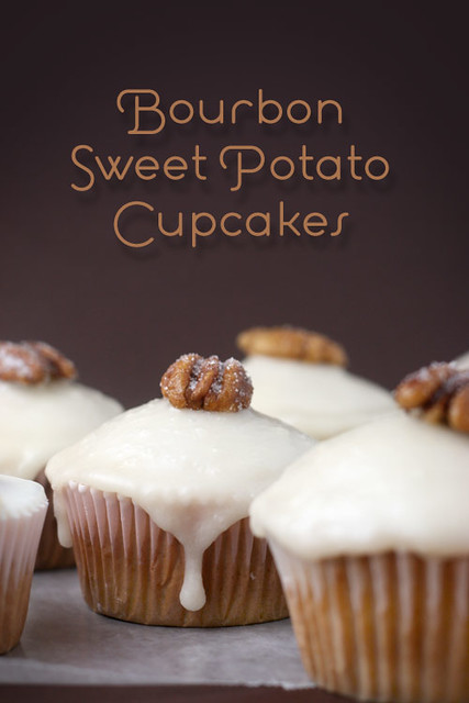 Bourbon Sweet Potato Cupcakes | Here's the recipe. | Bakerella ...
