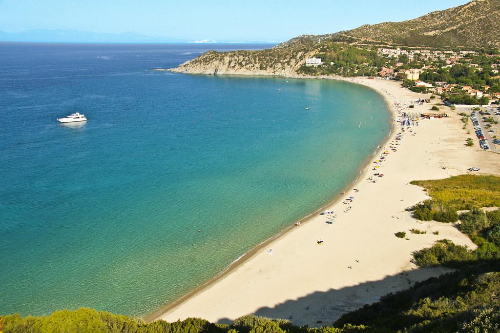 Solanas Beach Sardinia Solanas Beach Southern