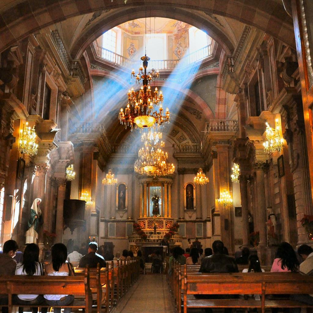 Iglesia De San Francisco Guanajuato Mexico Russ
