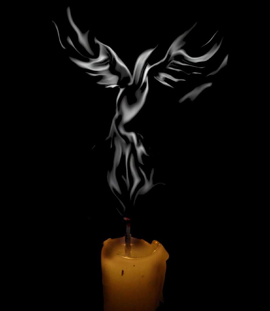 Phoenix rising from th...
