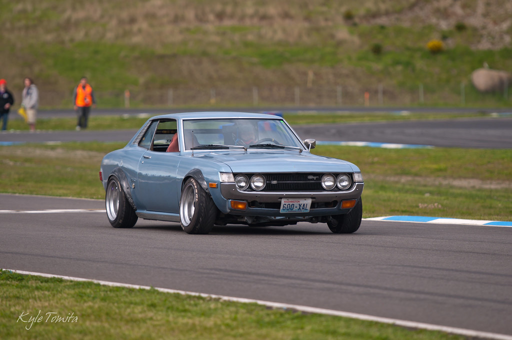 1973 Celica Drift Jpg Kyle Tomita Flickr