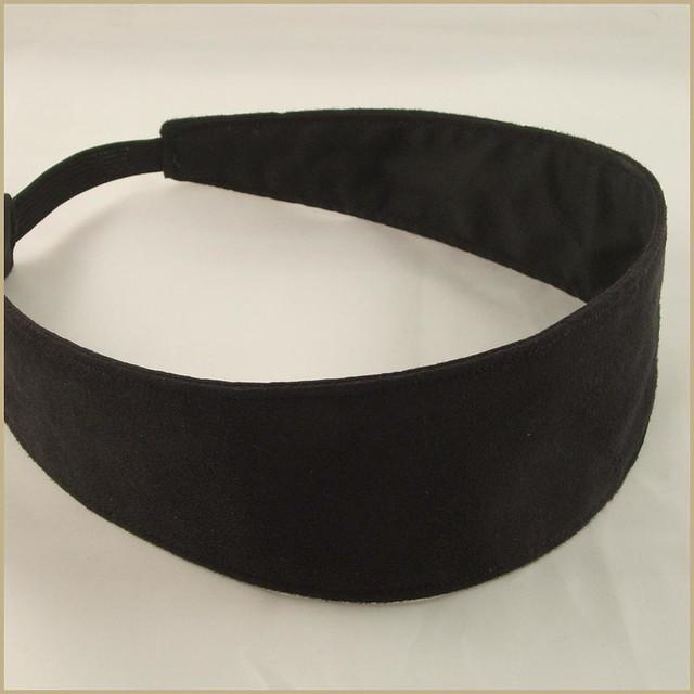Black suede headband  55fa721d720
