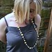 Chunky Glass Pearl Necklace