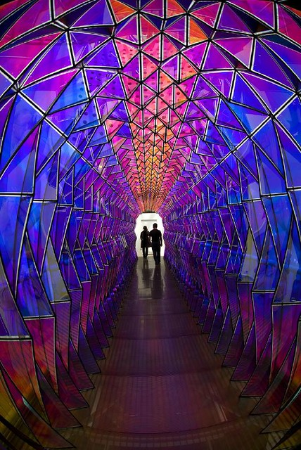 One-way Colour Tunnel | San Francisco Museum Of Modern Art ... Olafur Eliasson One Way Colour Tunnel