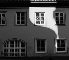 Morning facade