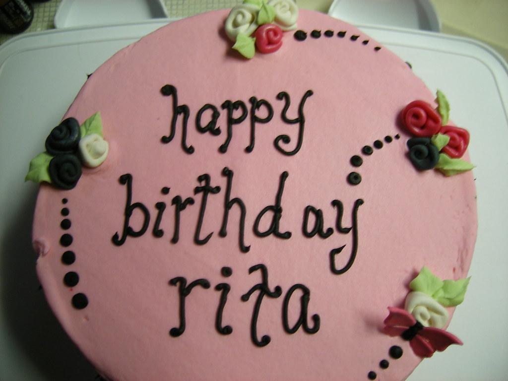 Rita Birthday Cake