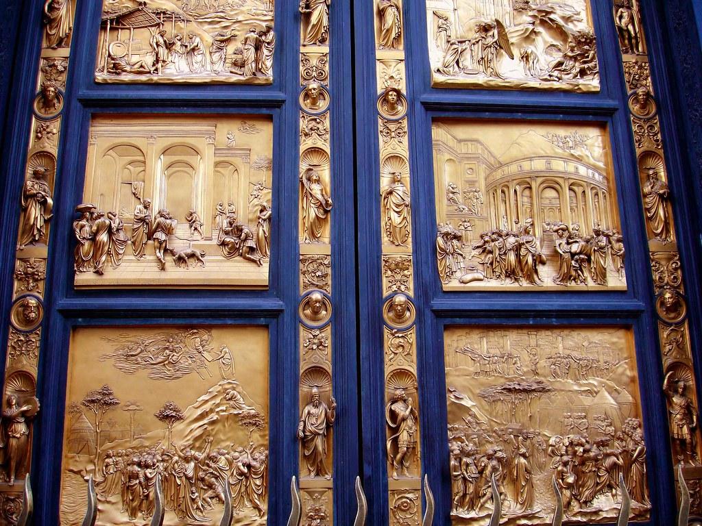 baptistry doors