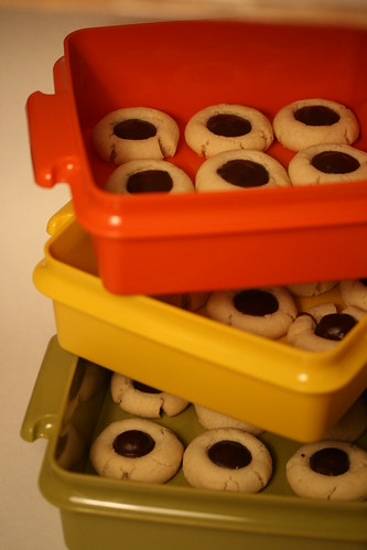 Martha Stewart's Chocolate Thumbprints | by Food Librarian