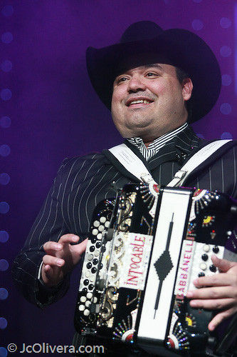 Ricky Munoz [ Intocable ] | Intocable in Concert at the Gibs ... Accordion